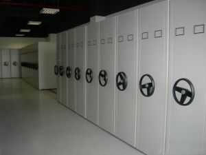 High Density Rolling Shelving System pictures & photos