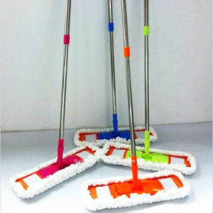 Flexible Microfiber Mop with Colorful Map Pad pictures & photos
