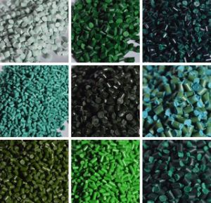 Wholesale Green Masterbatch for Injection Molding Extrusion Blow Film PE PP ABS EVA pictures & photos