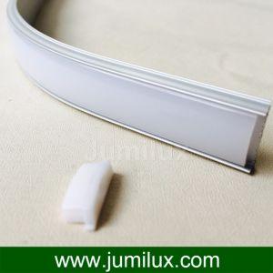 Flexible LED Profile Bendable Anodized Aluminum LED Profile pictures & photos