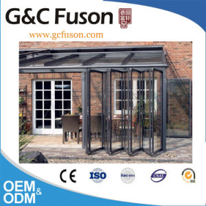 Exterior Glass Folding Door for Balcony pictures & photos