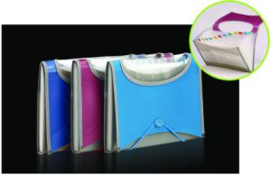 7 Inner Bags Expanding Wallet with Clear Window Design (C00435)
