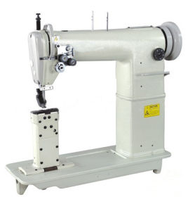 Post Bed Double-Needles Heavy Duty Lockstitch Industrial Sewing Machine (OD820) pictures & photos