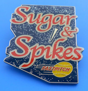 Glitter Baseball trading Pin (ASNY-JL-LP-12112001) pictures & photos