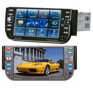 Single-Din 5.6′′ Car DVD Player With All-In-One Function (GP-5601)