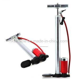 Nk808 Bicycle Steel Pump with Pressure Meters, Inflator, Bicycle Accessories, Bike Accessories, Bike Parts, Bicycle Spare Parts, Bike Part, SGS Certification