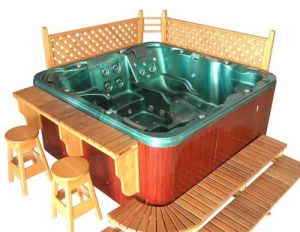 china outdoor whirlpool spa m 6094a china bathtub hot tub. Black Bedroom Furniture Sets. Home Design Ideas