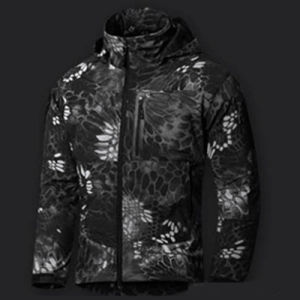 Black Youth Softshell Jacket with Fleece Lining (QF-4125) pictures & photos