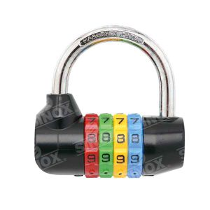 Hardened Shackle Resettable Combination Hardware Key Lock Heavy Duty pictures & photos