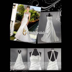 White /Ivory Bridal Dress Custom Size (LB3080)