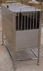Single Stainless Steel Pet Cages (Tc-Cwl)