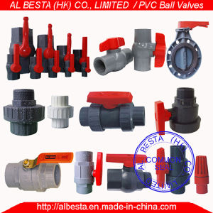 PVC Ball Valve (ANSI, DIN, BS, CNS, JIS standard) pictures & photos