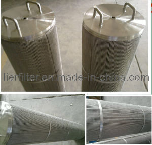 Water Filtration Netting Cartridge with Reinforcing Ring