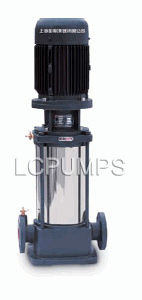 Multi-Stage Pipeline Centrifugal Vertical Stainless Pump pictures & photos