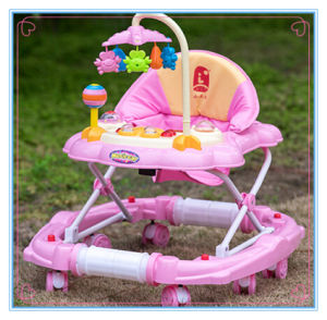 Wholesale 8 Wheels Baby Walker with Carpet pictures & photos