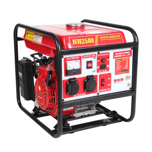 2500W Portable Digital Gasoline Inverter Generator for Home pictures & photos