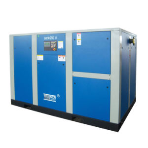 Direct Driven Rotary/Screw Air Compressor (SCR220II Series) pictures & photos