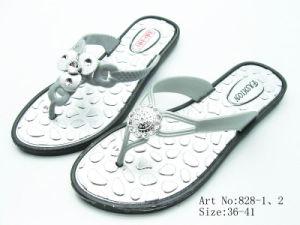 Ladies′ PVC Slipper (828)
