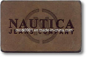 Leather Logo-Garment Tag High Quality Factory Wholesale Branded Leather Patch pictures & photos