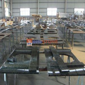 Chinese Absolute Black Granite Countertops