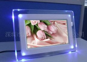 7 Inch Digital Photo Frame With LED Lights (AL0704)