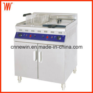 25+25L Electric Stainless Steel Deep Fryer pictures & photos