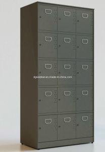 Metal 15-Door Storage Locker (SE-LKK15D) pictures & photos