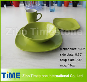 Colorful Modern Square Dinner Set pictures & photos