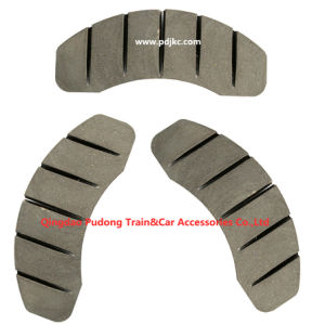 Engineering Machinery Disc Brake Pad pictures & photos
