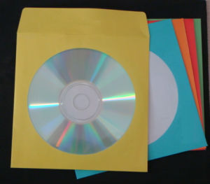 Paper CD Sleeve with Color