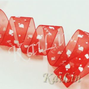 Nylon Organza Ribbon (KLR-0001)