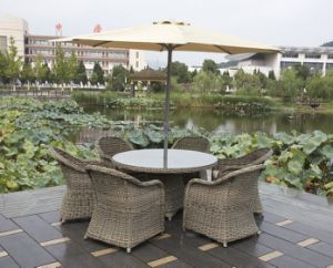 Rattan Table Chair Set (7118) pictures & photos