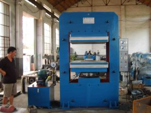 Plate Vulcanizing Press, Rubber Produce Making Machine 100ton (XLB-D(Y)800*800*1) pictures & photos