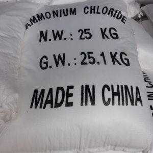 Manufacture Used in Industrial Field Ammonium Chloride 99.5% pictures & photos