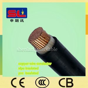 Single Core XLPE Insulated PVC Sheathed Power Cable
