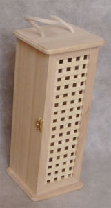 Wooden Wine Bottle Box (TGA04342)