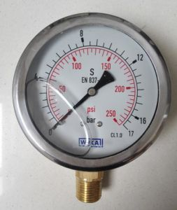 Wika Oil Filled Pressure Gauge pictures & photos