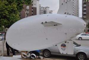 6.5m White PU RC Blimp
