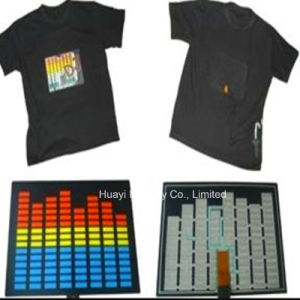 Sound Reactive LED Light up Shirts pictures & photos