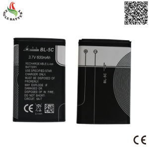 3.7V 600mAh Mobile Phone Rechargeable Li-ion Battery for Mobile Bl-5c pictures & photos