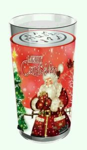 Mini Portable Father Christmas Cup Shape Speaker