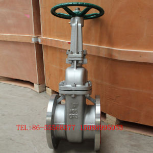 API 150lb Big Size Stainless Steel CF8 Gate Valve pictures & photos