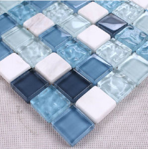 Floor&Wall Mosaic/Crystal and Stone Mosaic/Glass Mosaic/Mosaic Tile (HGM212) pictures & photos