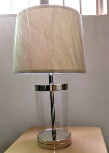 Simple Style Steel Glass Table Light (KADXT-44881) pictures & photos