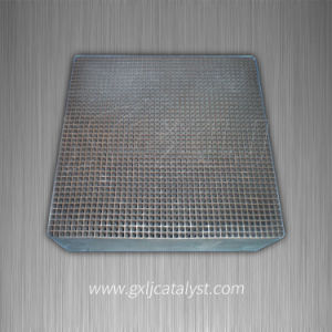 Industrial Exhaust Gas Purification Honeycomb Ceramic Substrate Catalyst pictures & photos