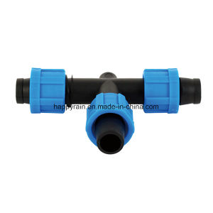 Garden Drip Irrigation PVC / Plastic Coupling for Pipe/Tape/Hose pictures & photos