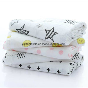 Super Soft Cotton Muslin Swaddle pictures & photos
