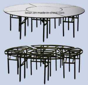 Hotel Stackable Banquet Wedding Chair and Table Set (LL-WST009) pictures & photos
