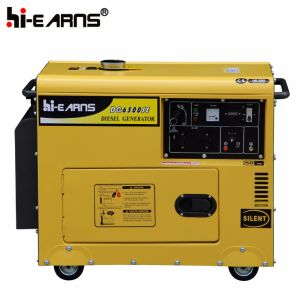 Air-Cooled Silent Type Single Cylinder Diesel Generator Three Phase (DG5500SE3) pictures & photos