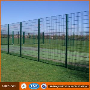 PVC Coated Green Color Folds Welded Wire Mesh Fencing pictures & photos